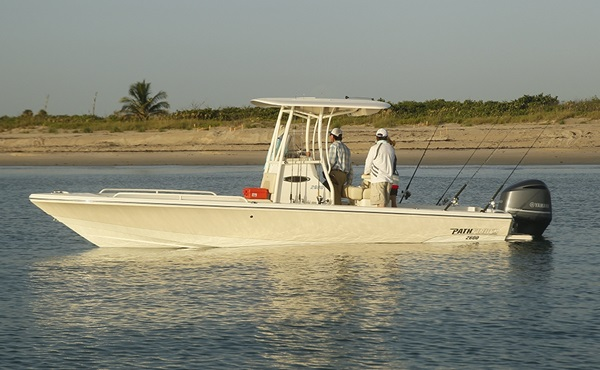 Equally at home in shallow coastal waters or just offshore in the deep, the Pathfinder 2600 TRS packs a lot of comfort into a capable fishing package. All photos courtesy of Maverick Boat Company.