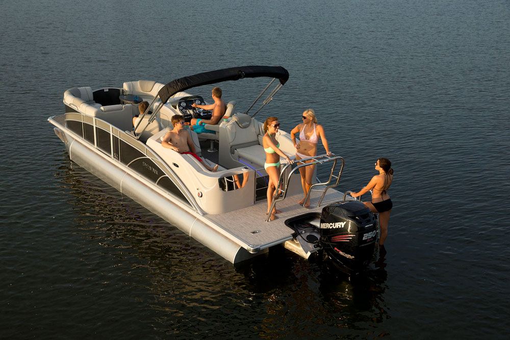 Pontoon Boats and Party Barges