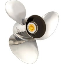 stainless outboard propeller