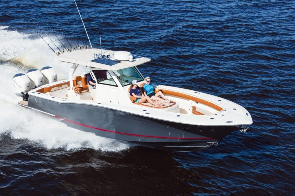 Center Console Boat Hull