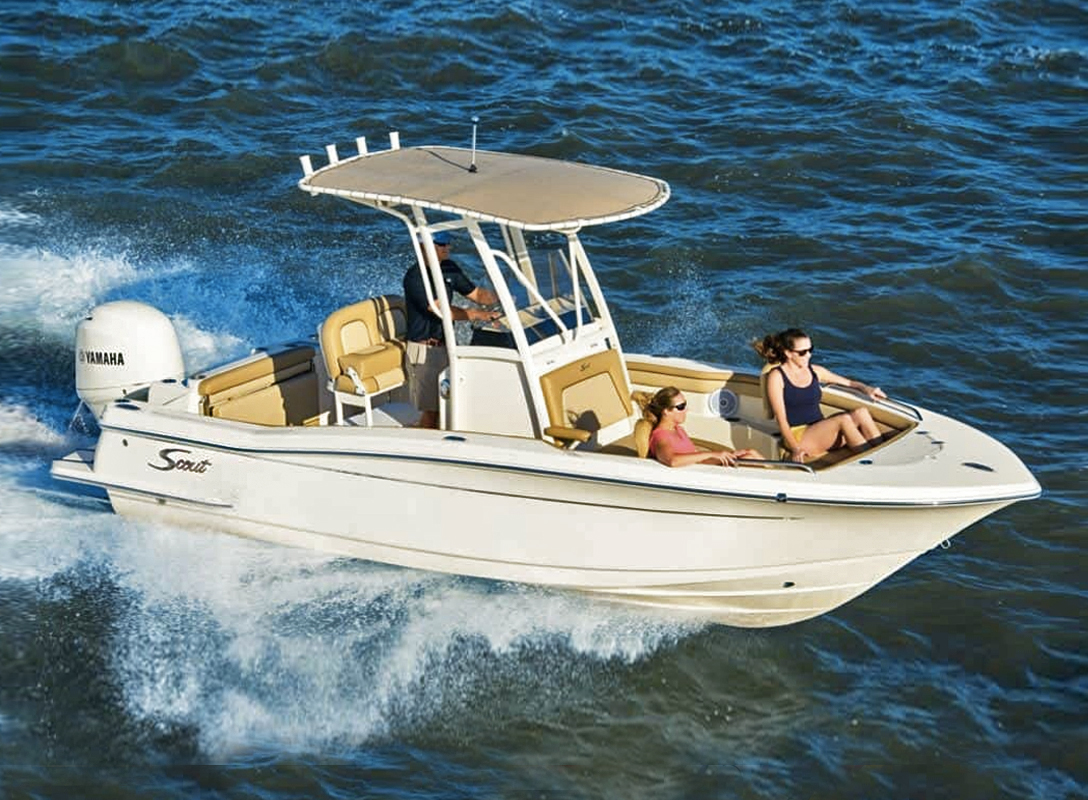 Scout 215 XSF Center Console. Photo: Scout Boats.