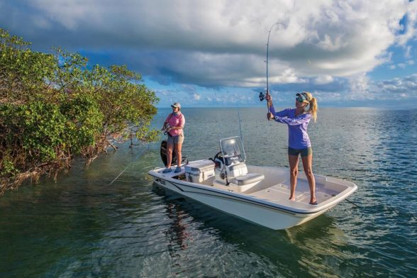 Though they're simplistic in nature, skiffs have plenty of advantages for fishing.