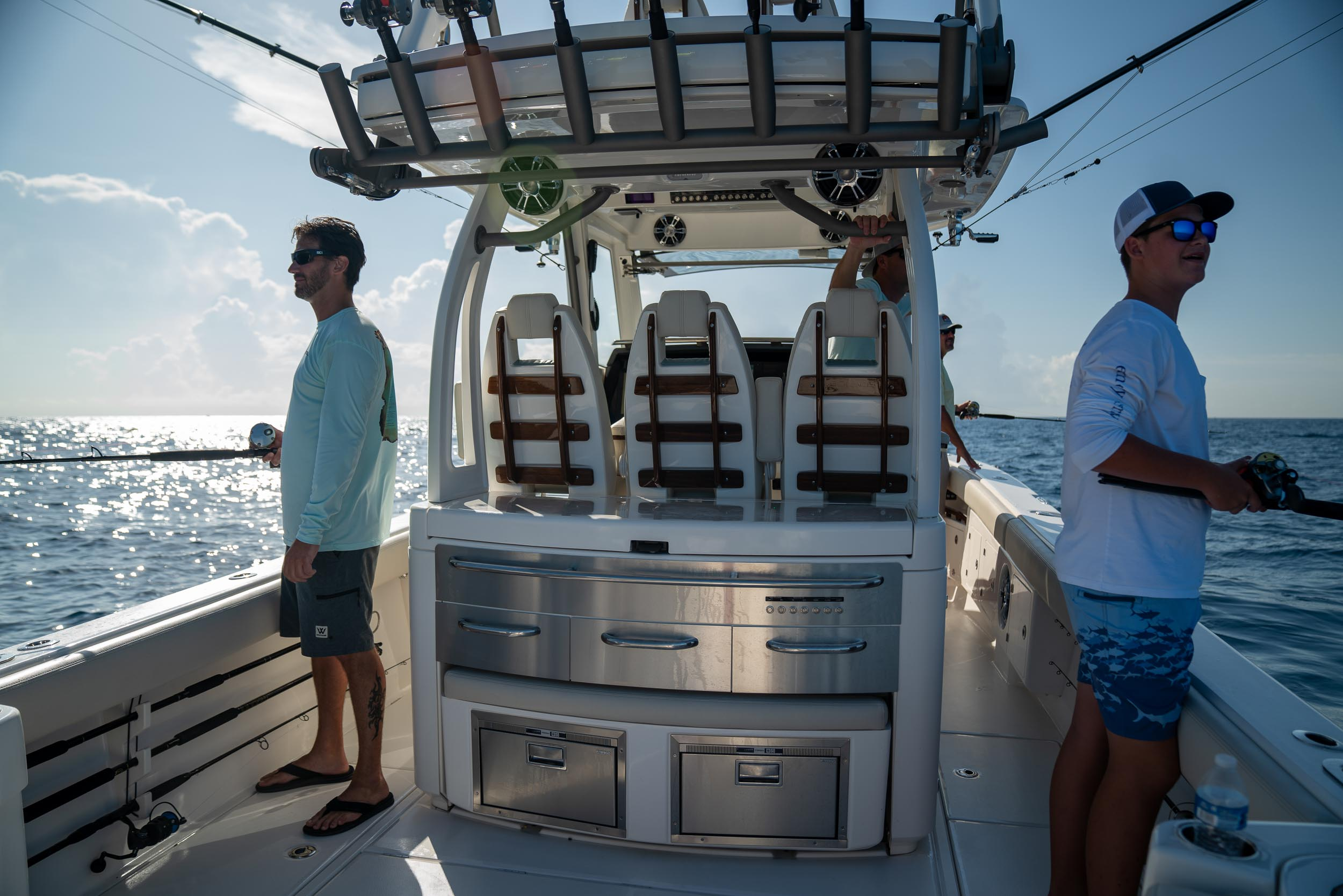 Solace 435 Center Console Fishing Boat