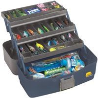 The Plano 5300 is a great beginner's tackle box. Keep things simple and inexpensive when you start collecting fishing gear. Photo courtesy of Plano.