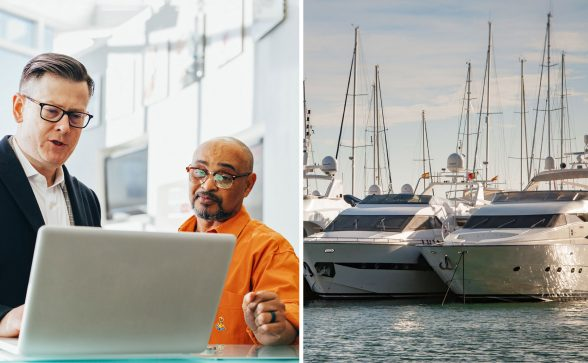 Working with boat dealers and yacht brokers